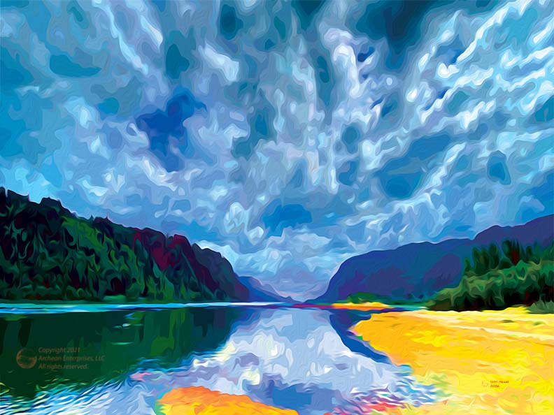 Big Sky Over the Gorge